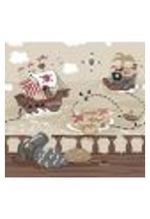 Faixa De Parede Vinílica Ciao Bimbi 1368 Com Estampa Infantil