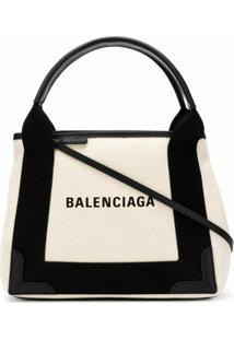 Balenciaga Bolsa Tote 'Cabas S' - Neutro