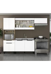Cozinha Compacta Itamaxi Ii 9 Pt 1 Gv Branca E Castanho