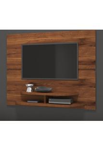 """Painel Para Tv Até 55"""" Sala 10338 Rústico Terrara - Dj Móveis"""