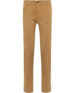 Calça Masculina Fit Color - Marrom