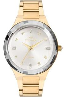 Relógio Technos Feminino Crystal 2036Mjk/4K 2036Mjk/4K - Feminino-Dourado