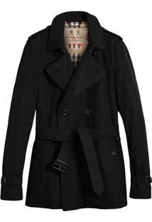Burberry Trench Coat The Kensington - Preto