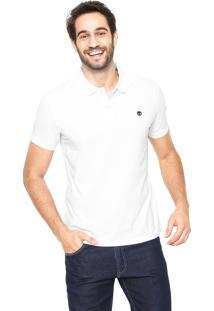 Camisa Polo Timberland Slim Kennebec Branca