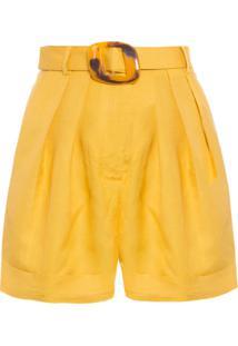 Short Feminino Classic - Amarelo