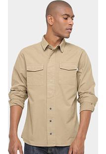 Camisa Timberland Jacket Military Masculina - Masculino
