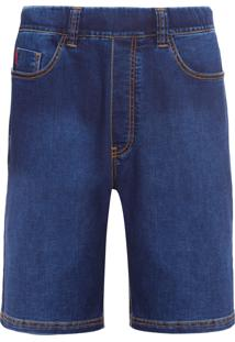 Bermuda Masculina Jeans Estique-Se Canavieiras - Azul