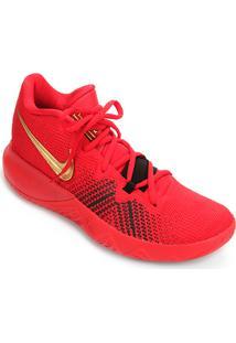 Tênis Nike Kyrie Flytrap Masculino - Masculino-Vermelho+Dourado