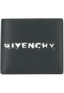 Givenchy Carteira Com Estampa De Logo - Preto