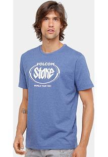 Camiseta Volcom Silk Stick It Masculina - Masculino