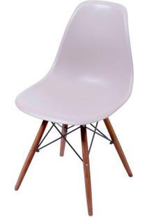 Cadeira Eames Polipropileno Fendi Base Escura - 44843 - Sun House