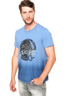 Camiseta Forum Estampa Azul