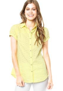Camisa Mooncity Metal Amarela