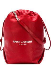 Saint Laurent Bolsa Tiracolo 'Teddy' - Vermelho