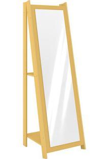 Espelheira- Amarela- 161X50X51Cm- Movelbentomovel Bento