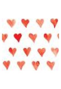 Papel De Parede Adesivo - Coração - 010Ppo
