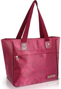Bolsa Shopper Jacki Design Abc15083 Vinho