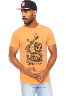 Camiseta Element Grounded Laranja