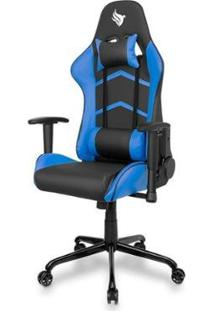 Cadeira Gamer Pichau Donek - Unissex-Preto+Azul