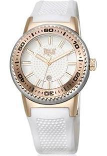 Relógio Everlast Feminino - Feminino-Branco