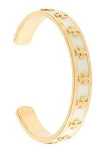 Tory Burch Bracelete Com Logo - Estampado