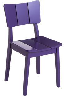 Cadeira Uma - Roxa