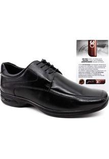 Sapato Social Jotape 3D Vision Tamanhos Grandes Masculino - Masculino-Preto