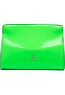The Attico Clutch Envelope - Verde