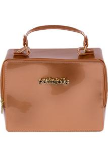Bolsa Petite Jolie Box Bronze T Un