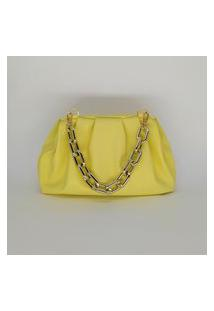 Bolsa Malaquita Amarela