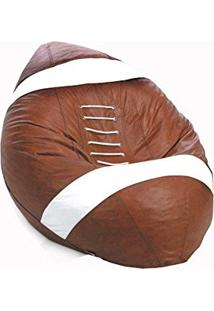 Puff Big Ball Pop Futebol Americano Caramelo - Stay Puff