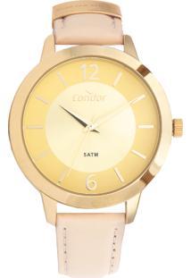 5da10a33111 Relógio Digital Dourado Nude feminino