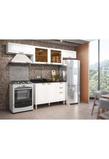 Cozinha Compacta Nevada 6 Pt 3 Gv Branca