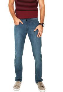 Calça Jeans Calvin Klein Jeans Skinny Color Azul