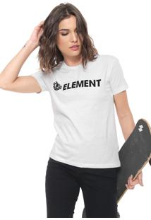 Blusa Element Horizontal Branca