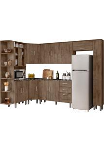 Cozinha Compacta Com Tampo 8 Peças Suiça – Poliman Móveis - Demolição