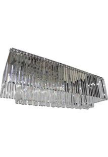 Lustre- Pashmina- Aluminio- Prata - Prata - Dafiti