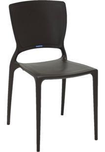 Cadeira Tramontina Sofia 92236/109 Marrom Se