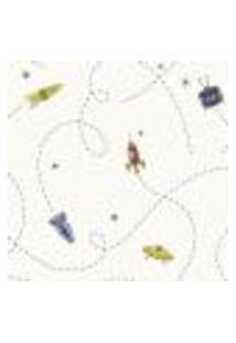 Papel De Parede Coleção Infantário Bege Robotic L01 1702 Bobinex