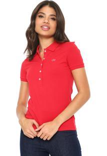 Camisa Pólo Lacoste Pique feminina   Gostei e agora  f4a35e91dc