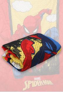 Edredom Solteiro Lepper Spider Man 1,50 M X 2,00 M