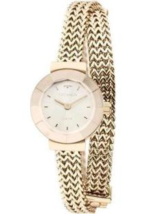 Relógio Technos Elegance Analógico Feminino - Feminino-Dourado