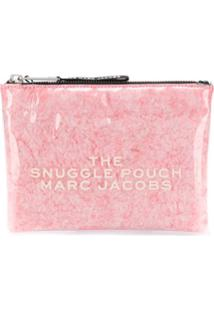Marc Jacobs Clutch Snuggle Pouch - Rosa