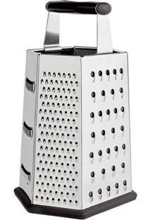 Ralador Com 6 Faces - Inox - 23X14X12Cm - Euro Heuro Homeware