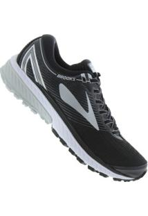 Tênis Brooks Ghost 10 - Masculino - Preto