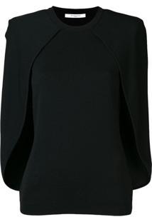 Givenchy Blusa Pelerine - Preto