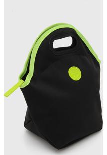 Bolsa Térmica Colcci Fitness Neon Preta/Verde - Kanui