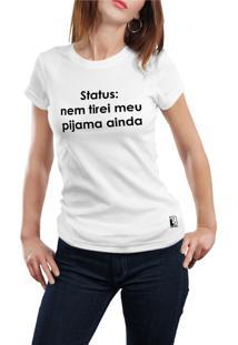 Camiseta Hunter Pijama Branca
