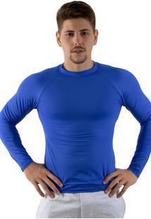 Camisa Térmica Rioutlet Azul Royal