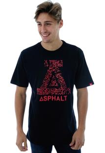 Camiseta Asphalt Roots - Masculino
